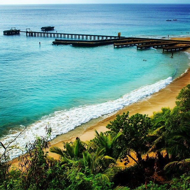 The one and only Crashboat Beach. #rivercityphotographyinstagram #crashboat #puertorico #beach #funinthesun - From Instagram