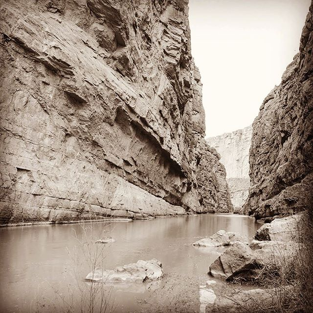 More Santa Elena Canyon at Big Bend. - From Instagram