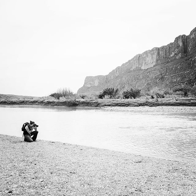 Big Bend by Santa Elena Canyon - From Instagram